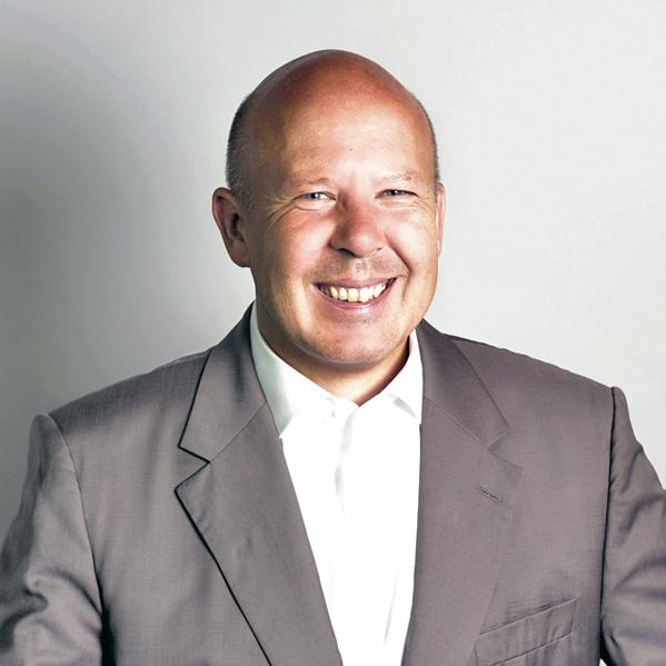 Portraitfoto Botschafter Michael Hug