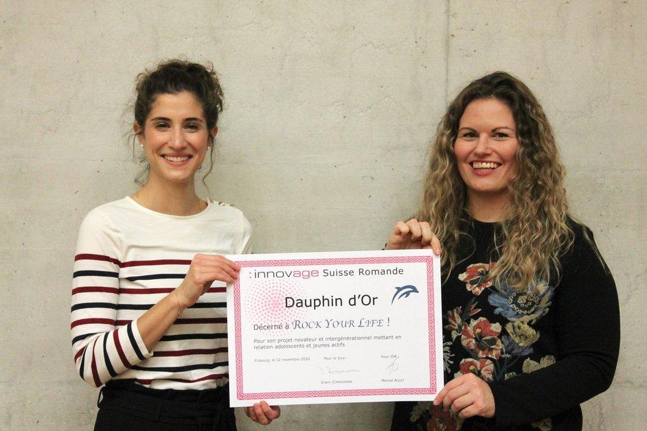 RYL Mentoring wird mit Innovationspreis 2020 ausgezeichnet | Innovage Suisse Romande