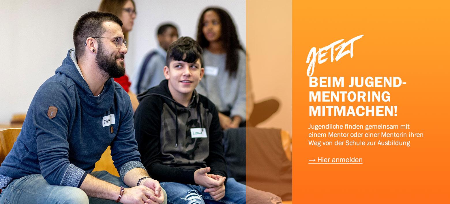 RYL Mentoring für Jugendliche Mentees berufliche Orientierung