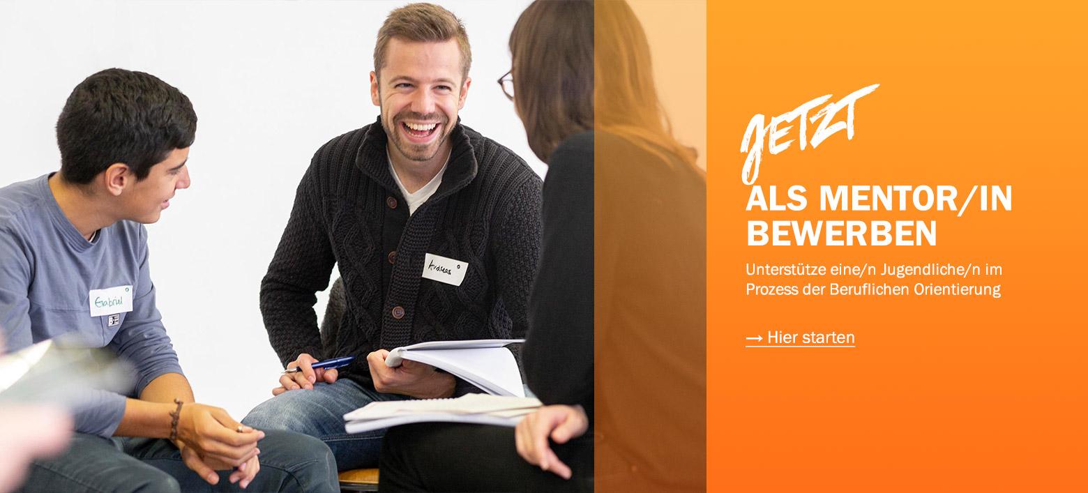 RYL Mentoring fuer Jugendliche Mentor werden